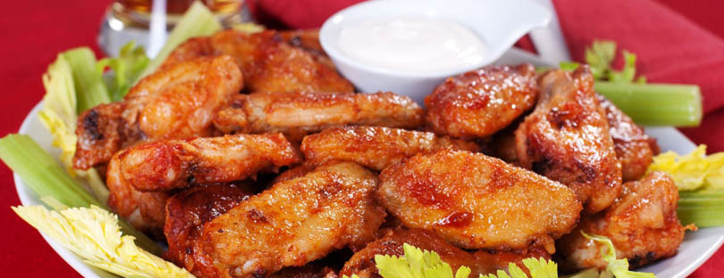Sizzling Buffalo Wings